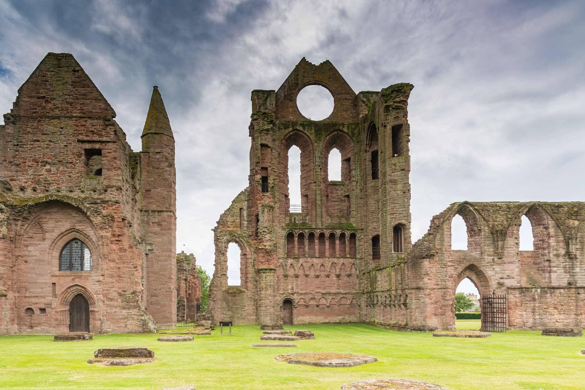 arbroath abbey in angus