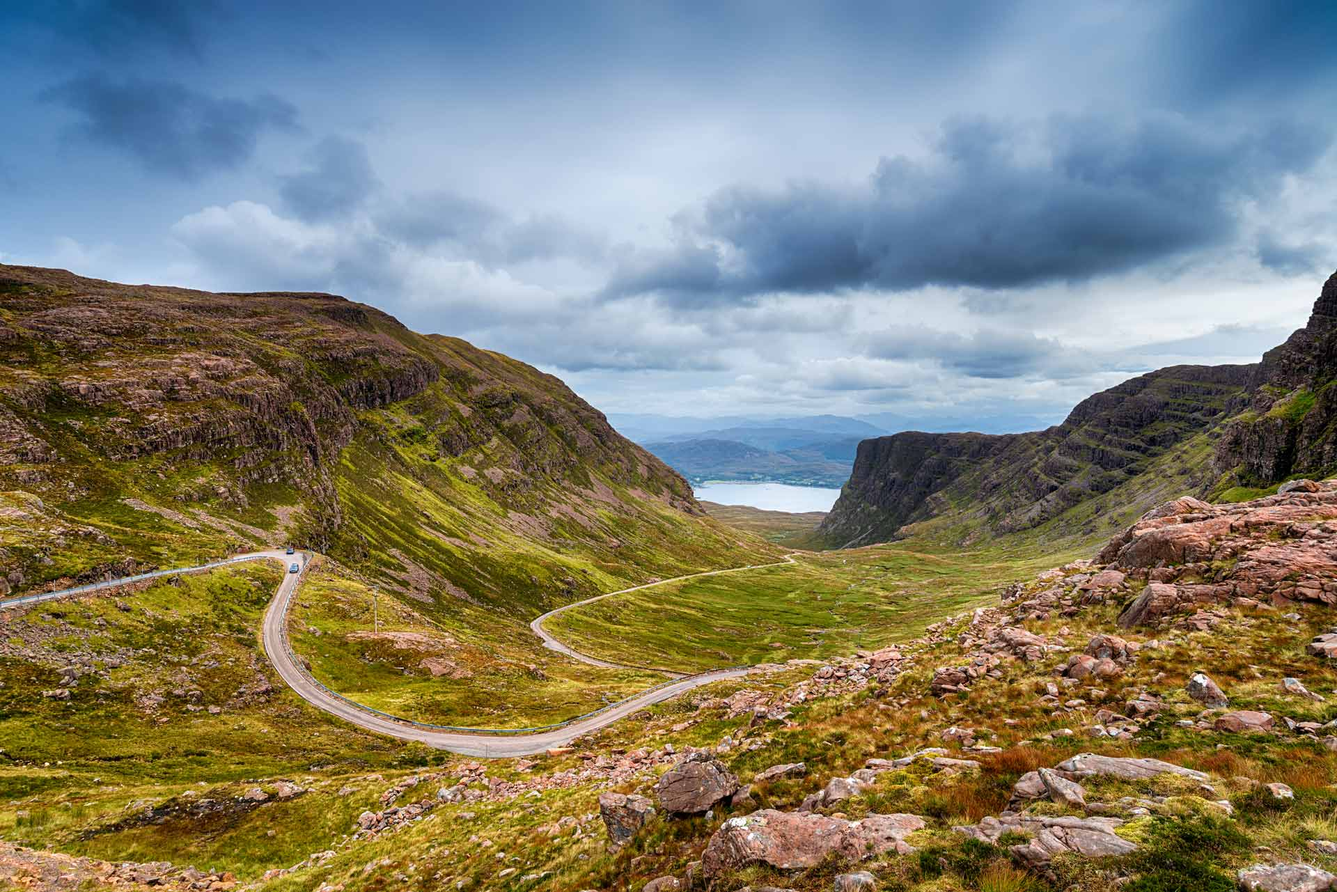 bealach na ba pass scottish highlands