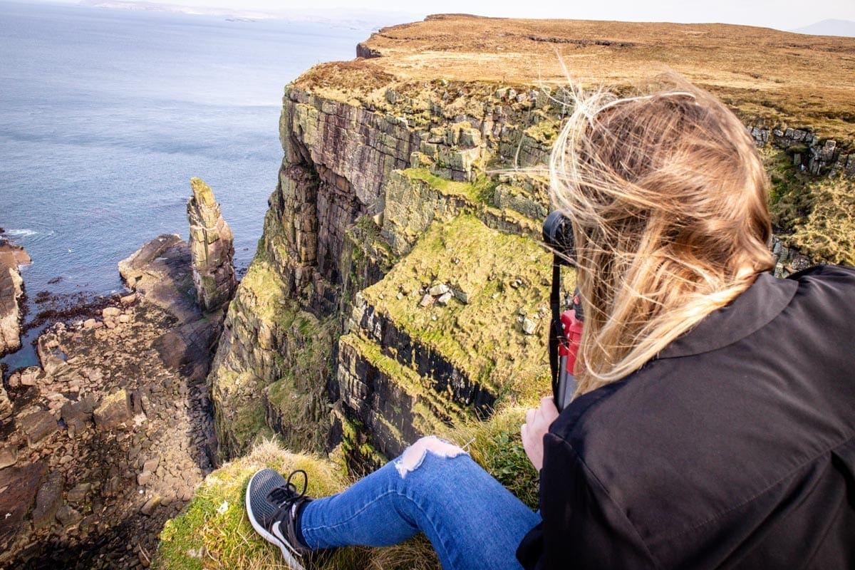 best birdwatching sites in scotland handa island