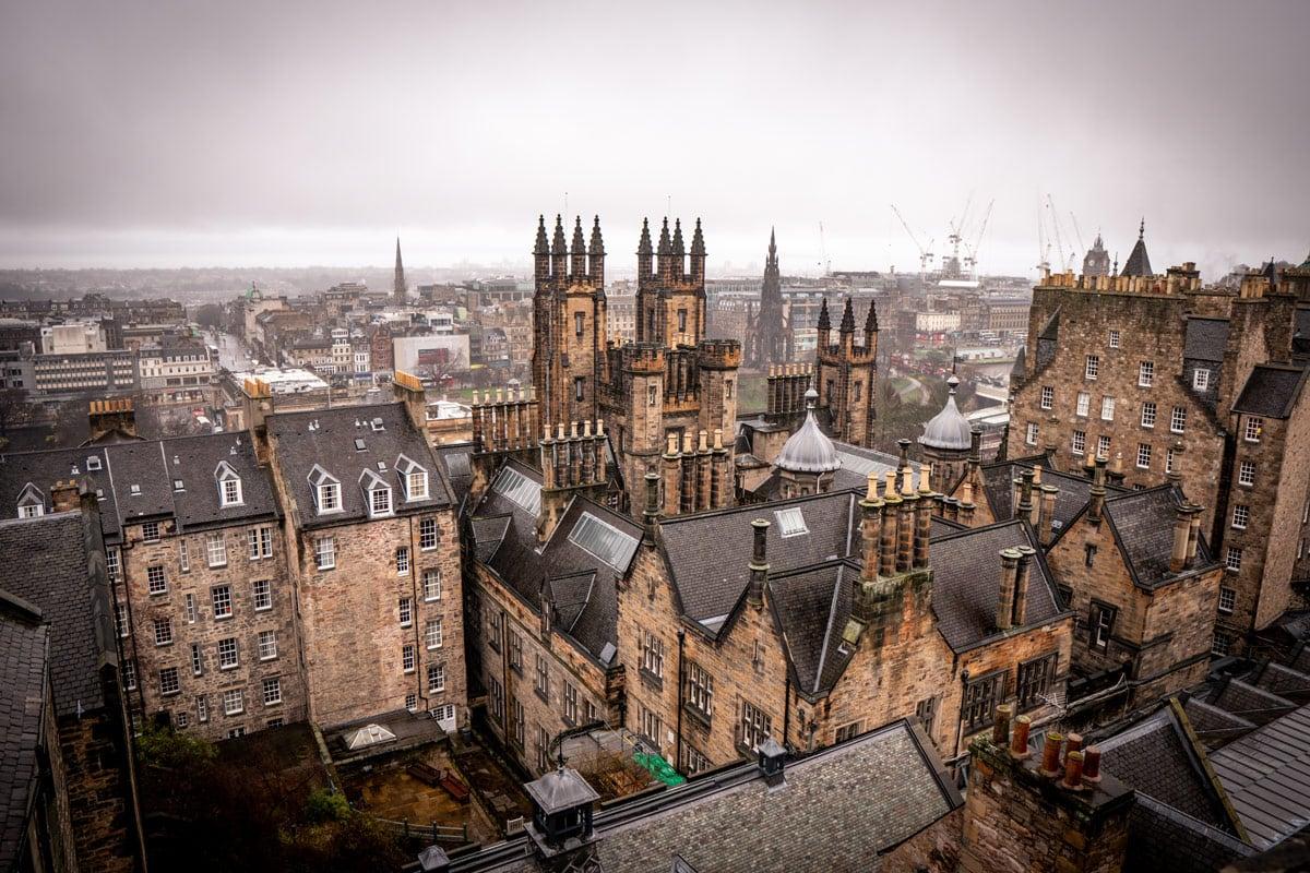 view from atlas obscura of edinburgh scotland