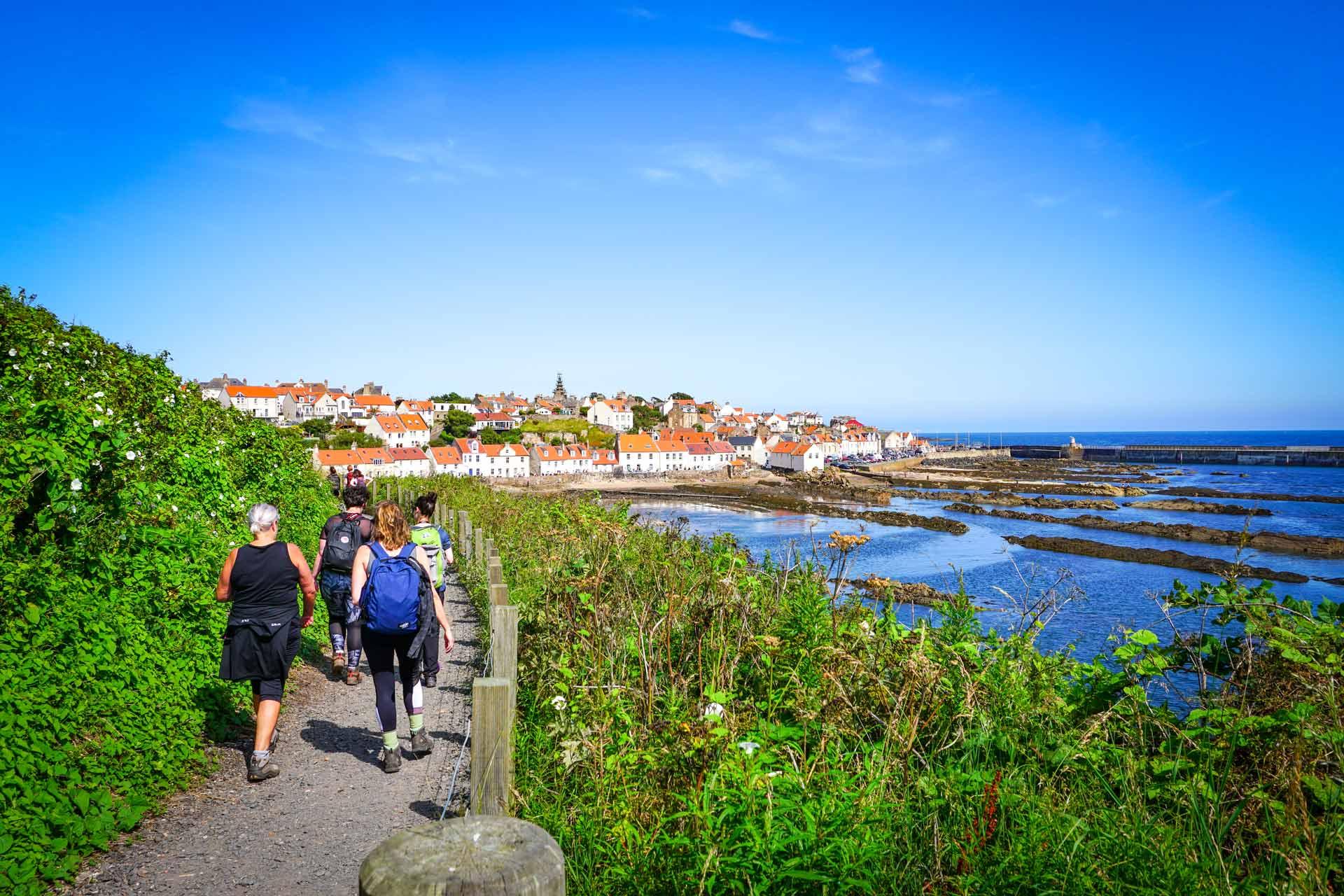 hiking the fife coastal path
