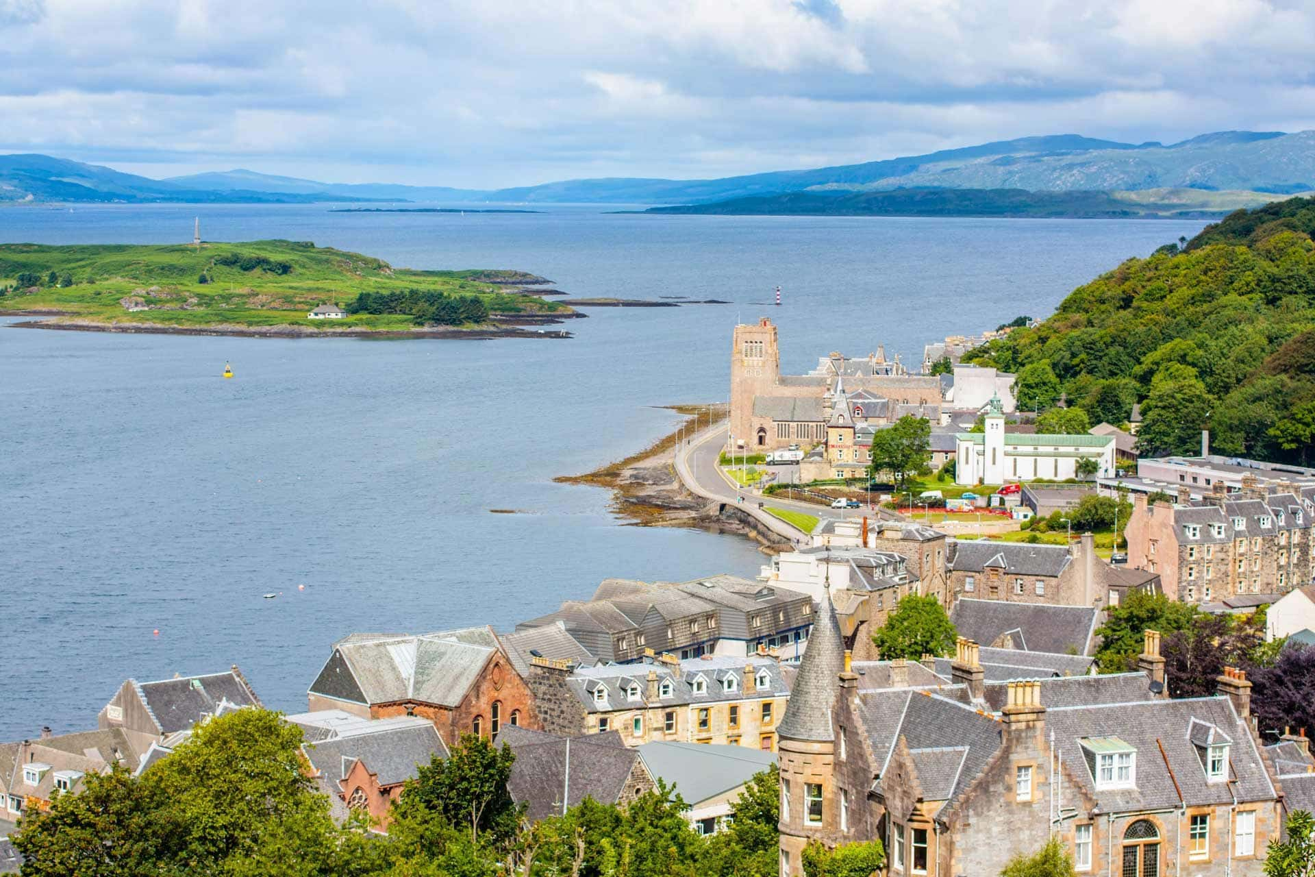 town of oban in scotland