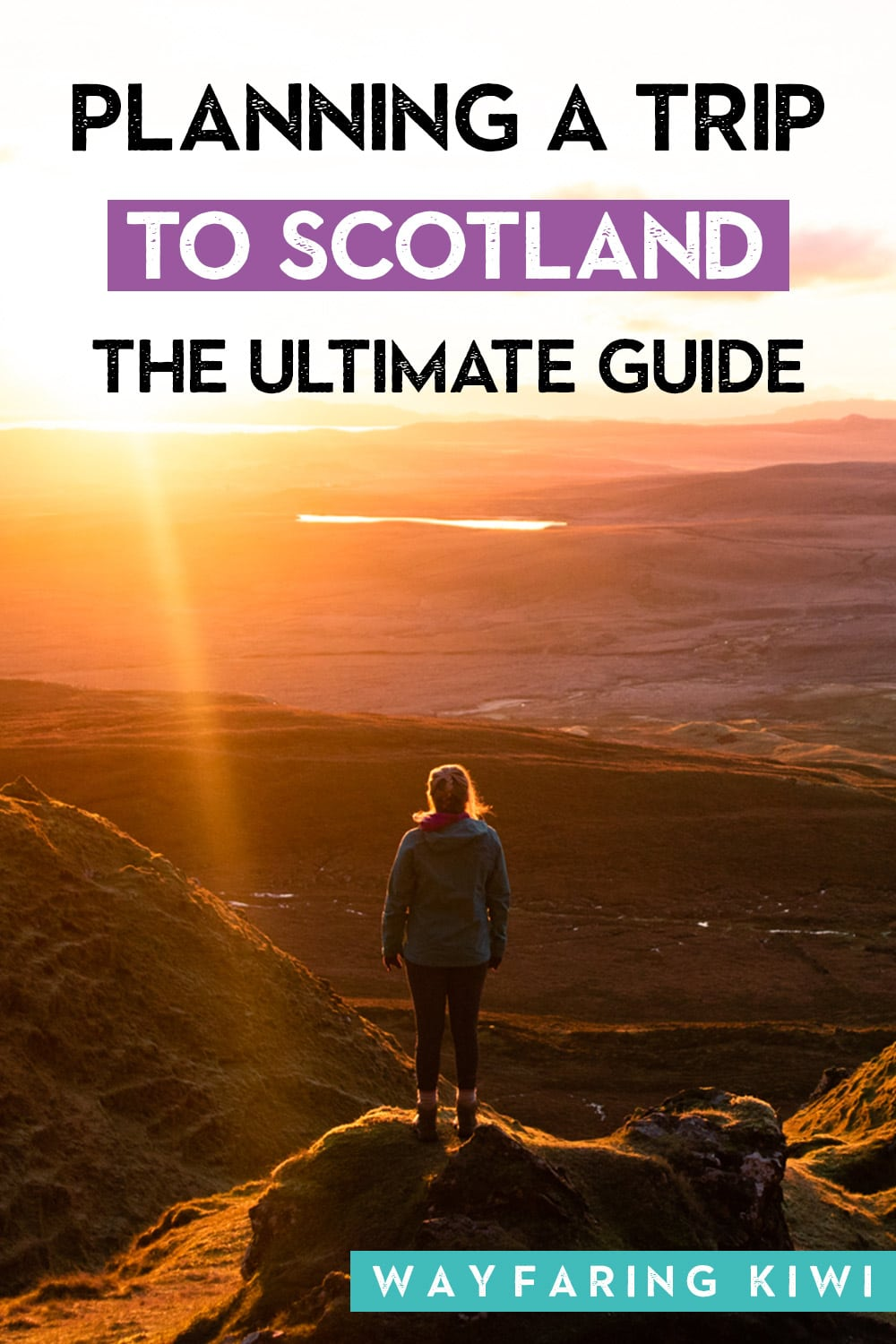 planning a trip to scotland pin
