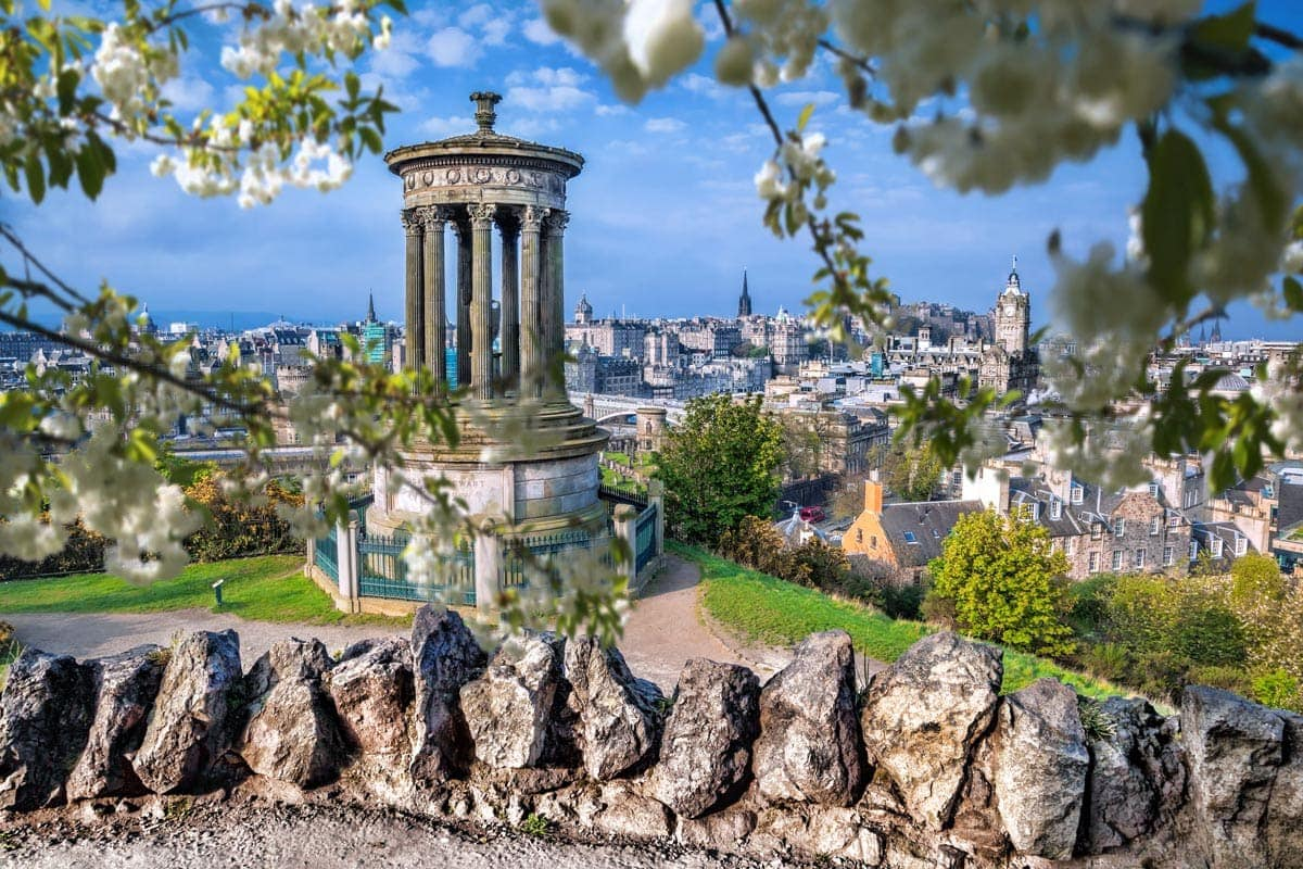 planning a trip to scotland in spring