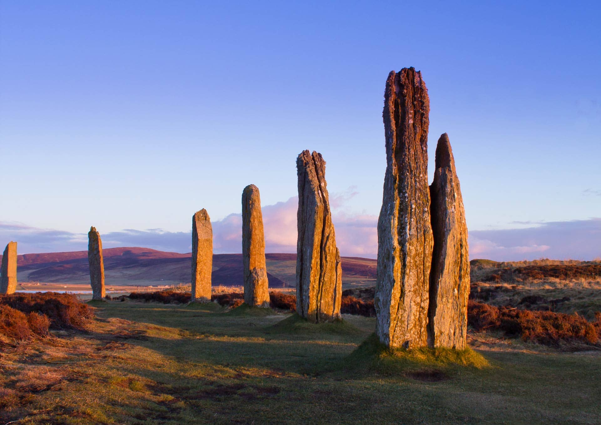 ring of brodgar on orkney