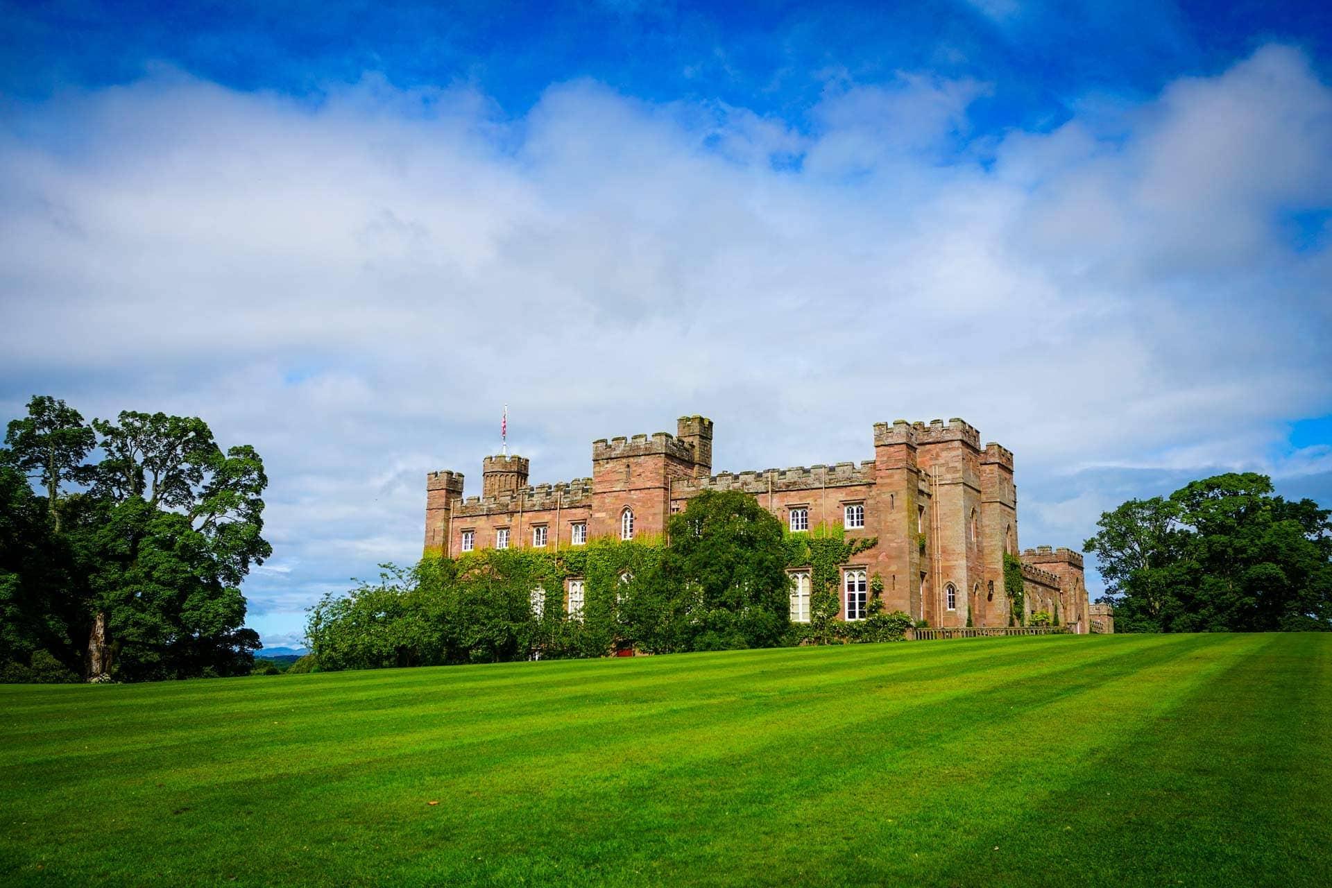 scone palace in perth scotland