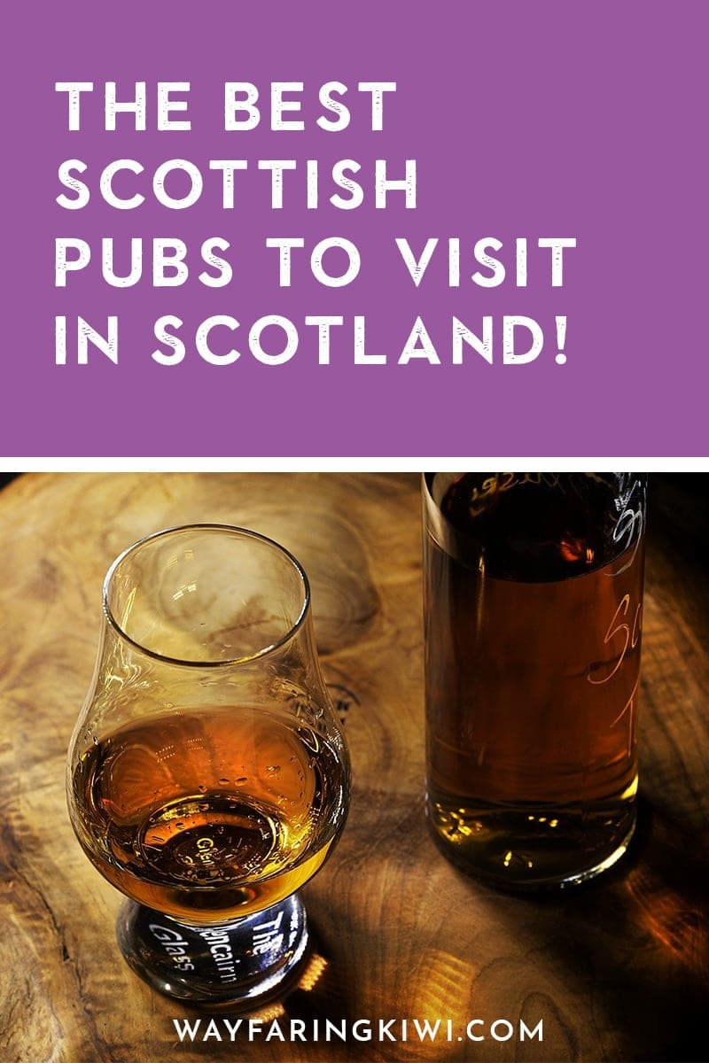 My 10 Favourite Pubs in Scotland