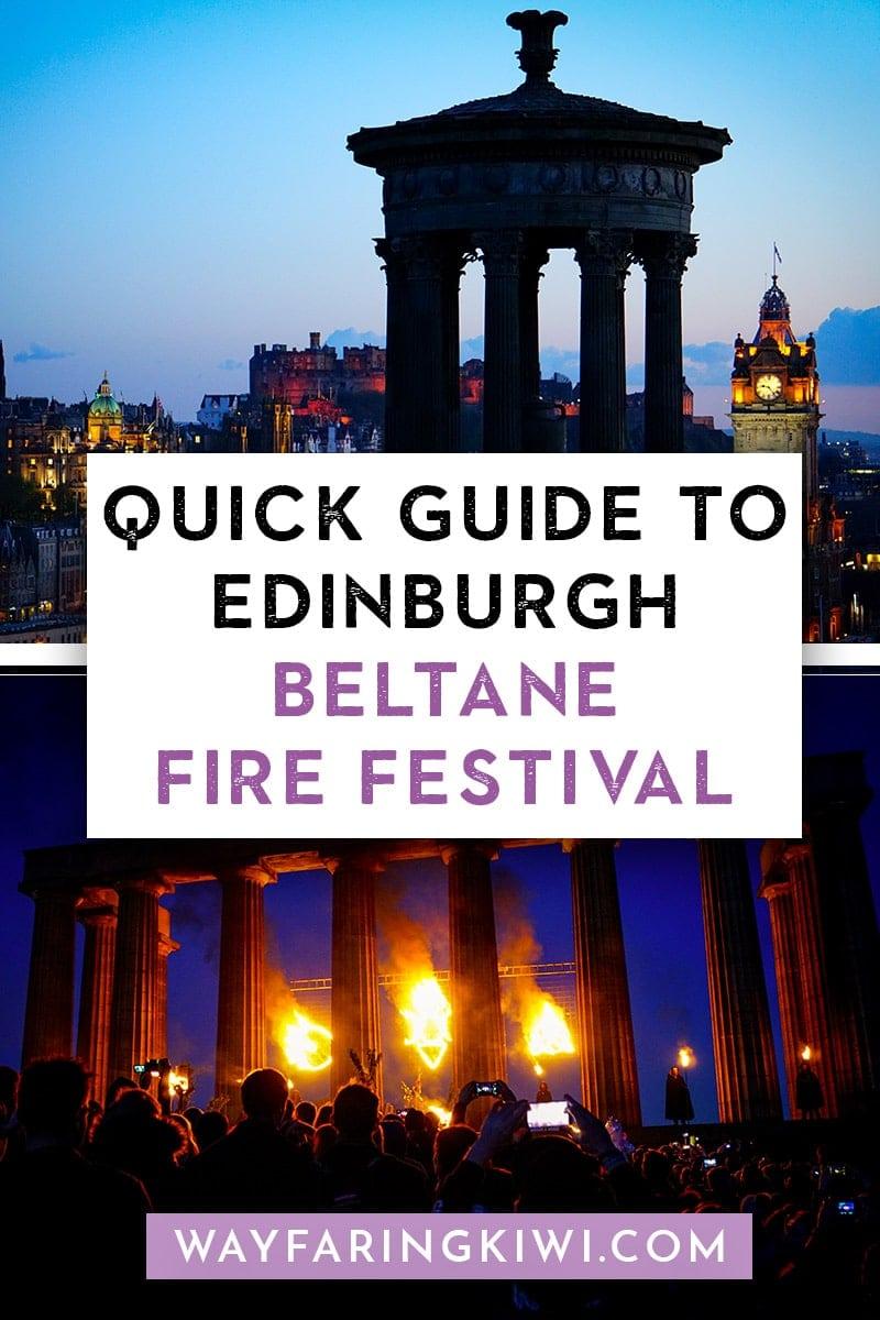The Edinburgh Beltane Fire Festival: A Simple Guide