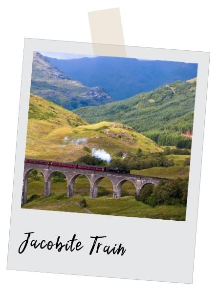 ride the jacobite train