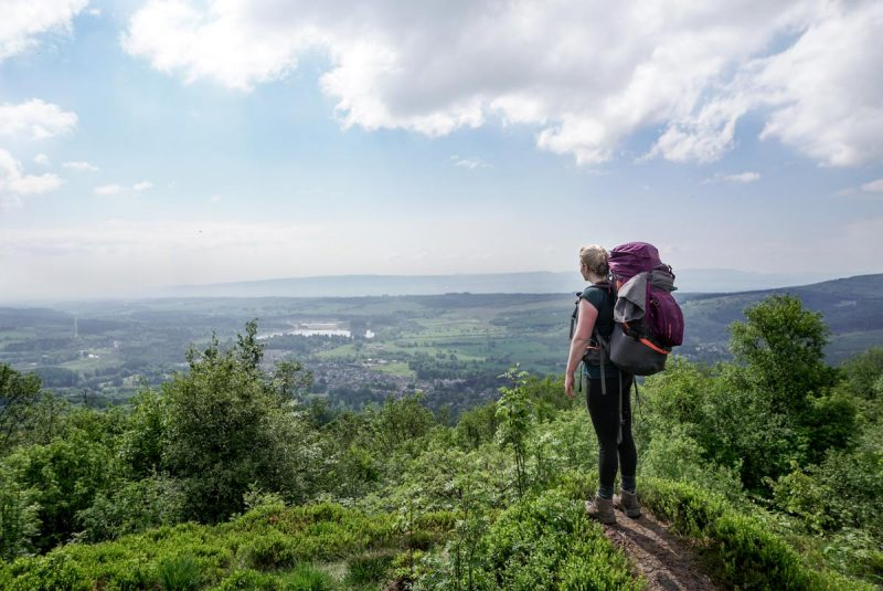 walking the length of scotland