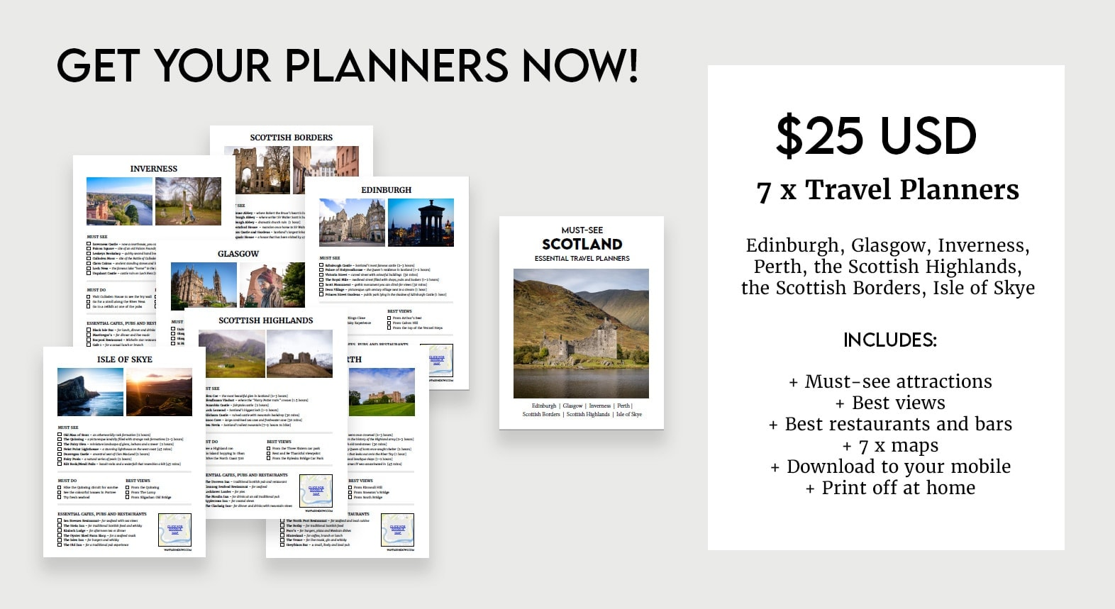 scotland travel planners