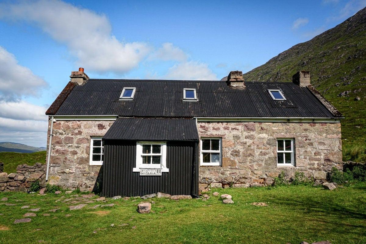 Shenavall bothy scotland
