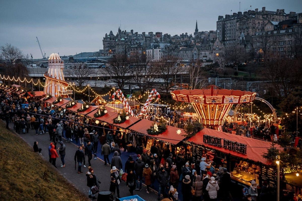 christmas markets in scotland