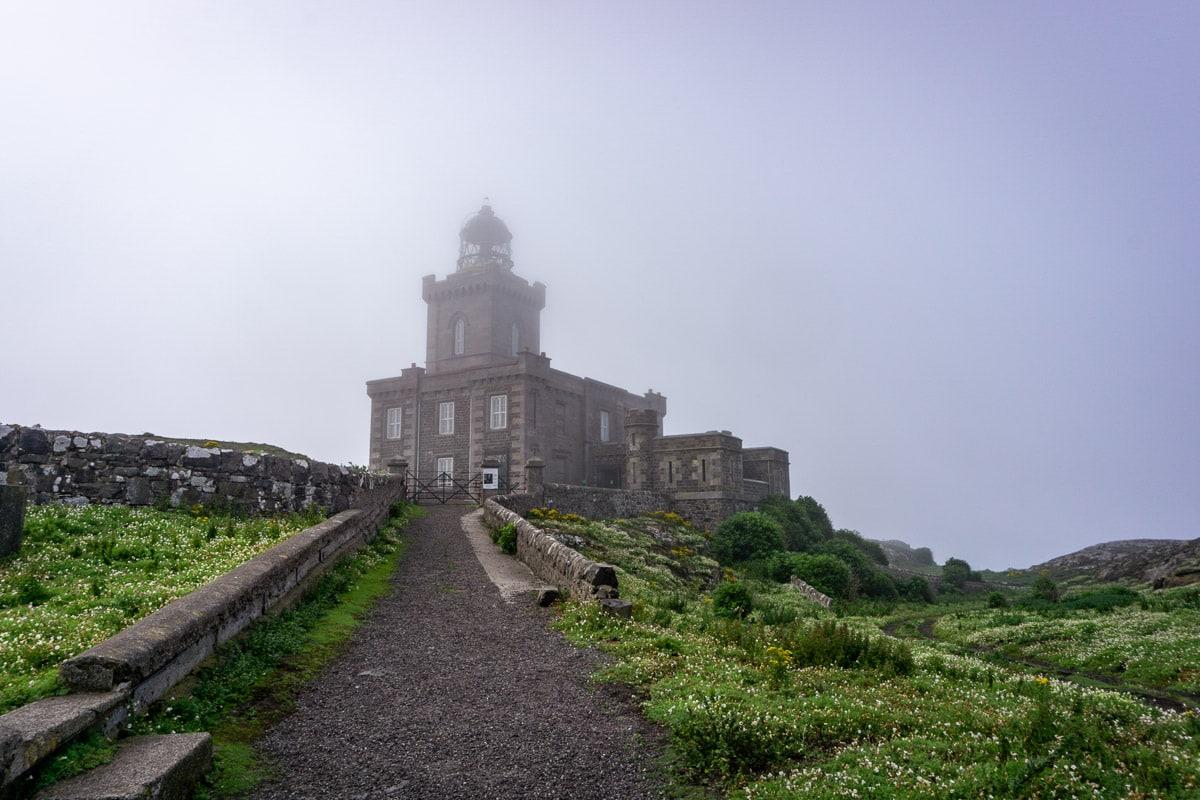 robert stevenson lighthouse on the isle of may scotland