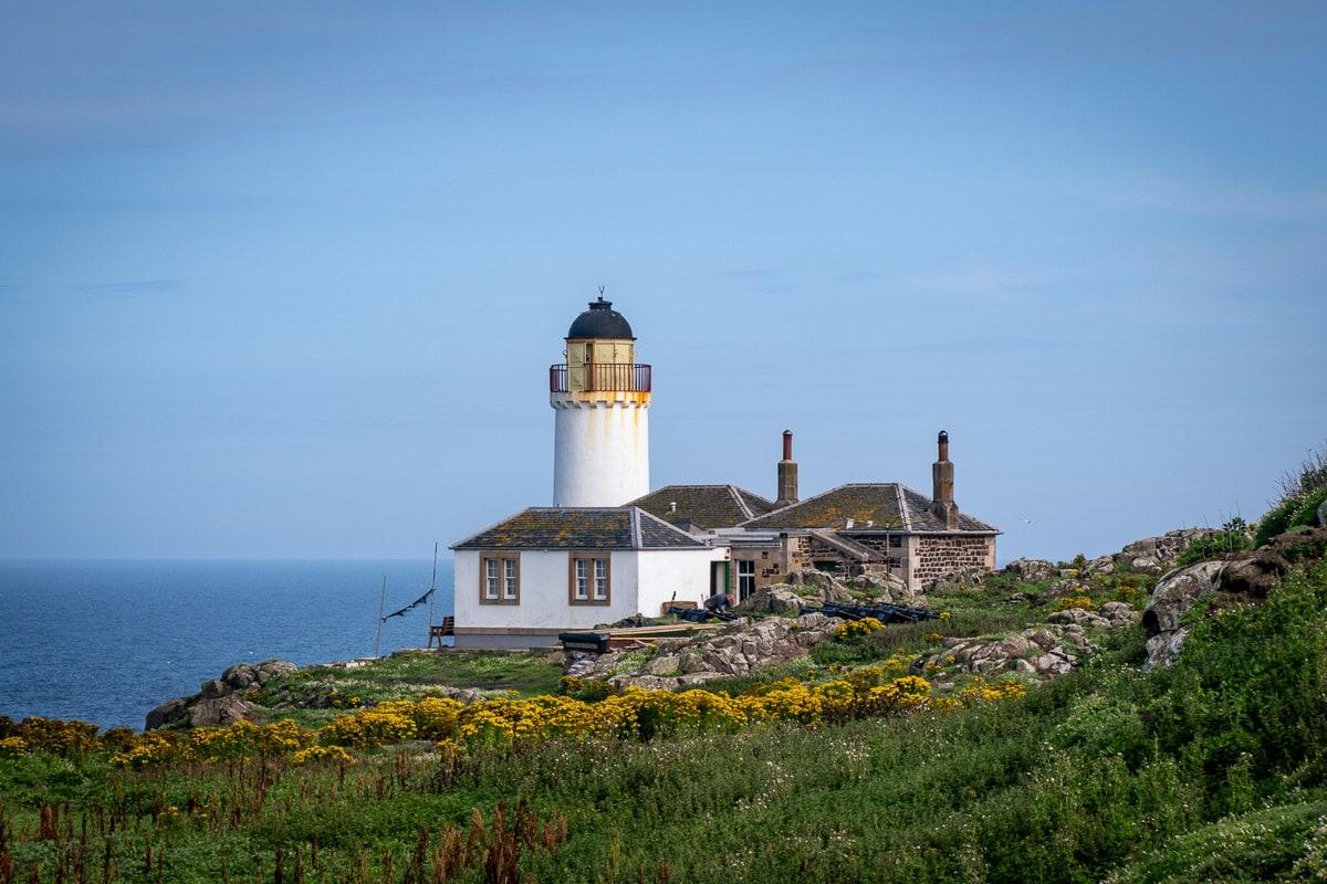 lighthouse on the isle of may scotland