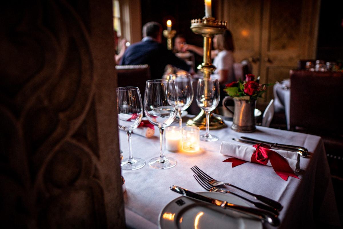 romantic restaurants in edinburgh