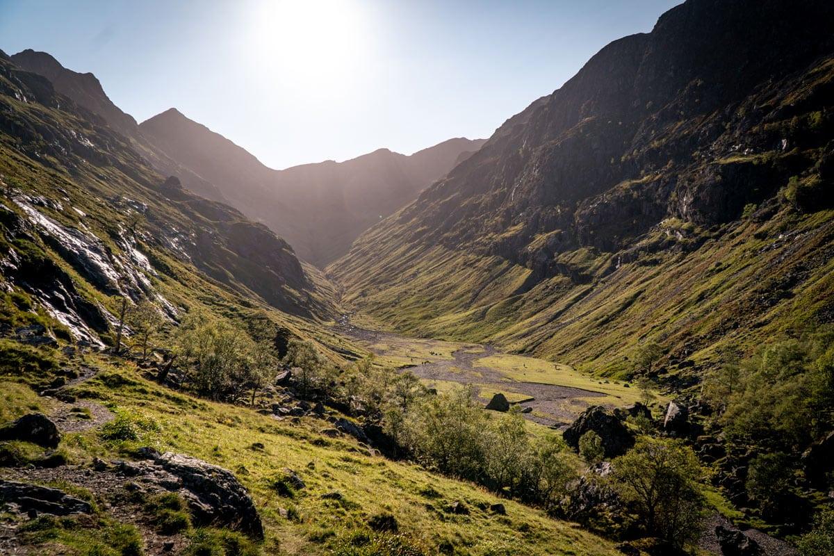 the lost valley glencoe scotland