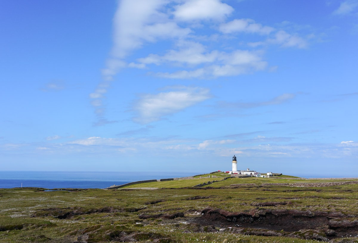 Cape Wrath lighthouse the most north western point of scotland