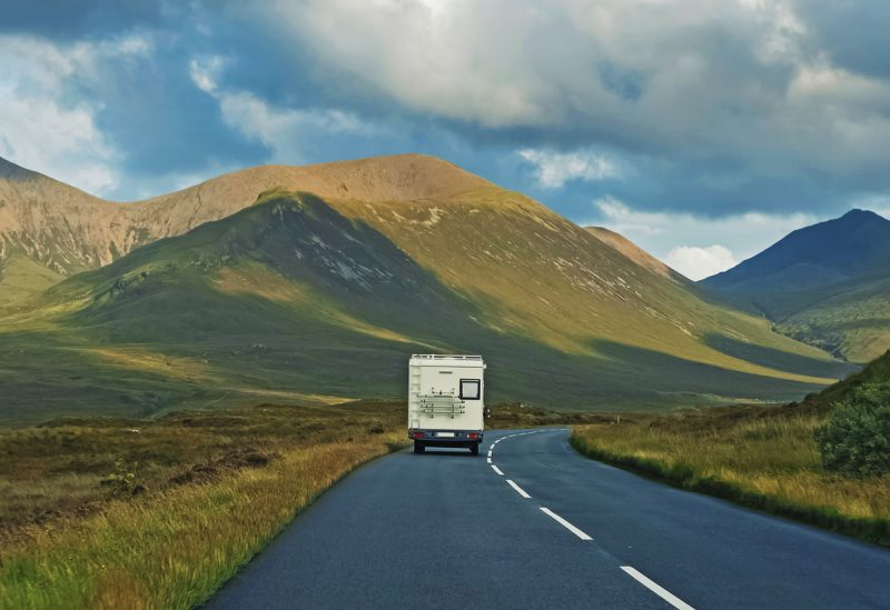touring scotland in a motorhome